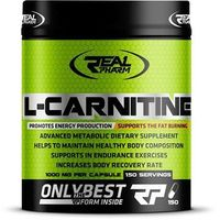 REAL PHARM L-Carnitine 150 kaps. (5904730666060)