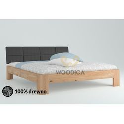 Łóżko dębowe vernalis 04 200x200 marki Woodica