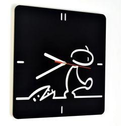 Zegar ścienny akrylowy plexi Woodway LA LINEA