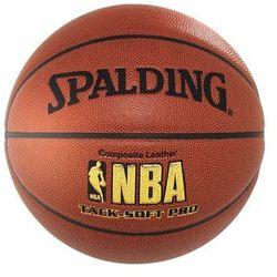 Piłka do koszykówki  nba tack soft pro wyprodukowany przez Spalding