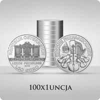 Münze Österreich Wiedeńscy filharmonicy 1 uncja srebra x 100