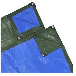 Plandeka, przykrycie (10 x 6 m) niebiesko-zielona - sprawdź w VidaXL