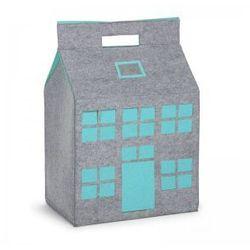 Childhome, Filcowy domek na zabawki miętowy 50x35x72