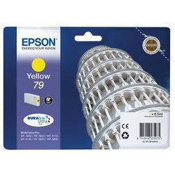 Epson oryginalny ink C13T79144010, 79, L, yellow, 800s, 7ml, 1szt, Epson WorkForce Pro WF-5620DWF, WF-5110DW,