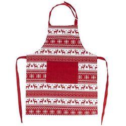 Fartuch świąteczny Renifer czerwony, 60 x 80 cm (8595556447604)