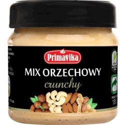 Primavika Mix orzechowy crunchy 185g  mix maseł