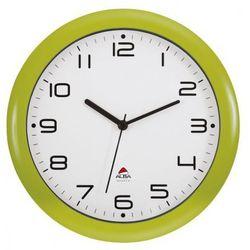 Zegar ścienny jesnozielony