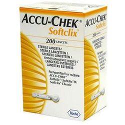 LANCET ACCU-CHEK Softclix x 200 sztuk, kup u jednego z partnerów