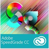 Adobe SpeedGrade CC Multi European Languages Win/Mac - Subskrypcja (12 m-ce)