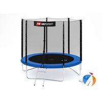 Trampolina 8ft (244cm) z siatką zewnętrzną Hop-Sport - 8ft (244cm), kup u jednego z partnerów