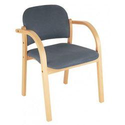Nowy styl Krzesło elva - do poczekalni i sal konferencyjnych, konferencyjne, na nogach, stacjonarne