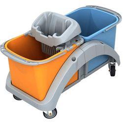Splast Wózek do sprzątania dwuwiadrowy 2 x 20 litrów z wyciskarką do mopa ts20015