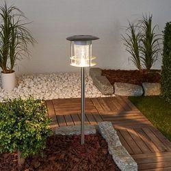stojąca lampa solarna z czujnikiem ruchu, srebrna, gws-179-ms marki Smartwares