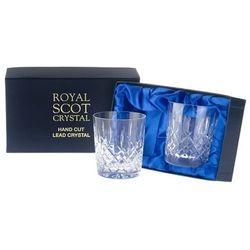 Royal Scot Crystal Szklanki London do Whisky 330ml 2szt.