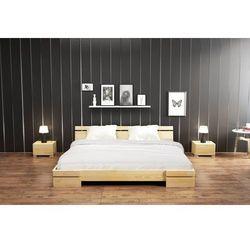 Łóżko drewniane sosnowe SPARTA Niskie 90-200x200
