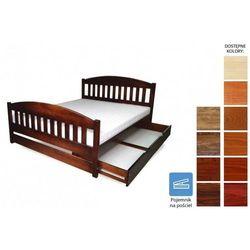 łóżko drewniane amida 100 x 200 marki Frankhauer
