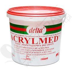 Pasta montażowa DELTA Acrylmed czerwona uszczelniacz 4kg - Czerwona ()