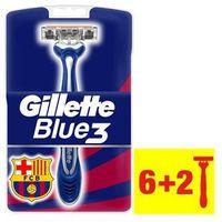 Gillette Blue 3 FCBarcelona jednorazowe maszynki do golenia 8 szt.