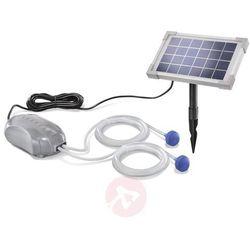 Esotec Duo air - solarny napowietrzacz stawu (4260057863850)
