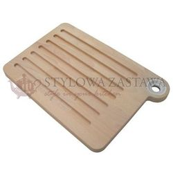 Deska do krojenia duża OMADA Woody 33,5X23X2 CM biały