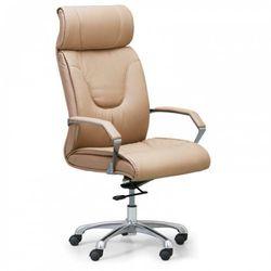 B2b partner Fotel biurowy lux, beżowy