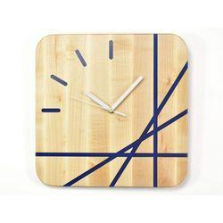 Epoxy Clock - Lines - Zegar ścienny z żywicą, Clock-0001