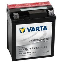 Akumulator motocyklowy Varta YTX7L-BS 6Ah 100A
