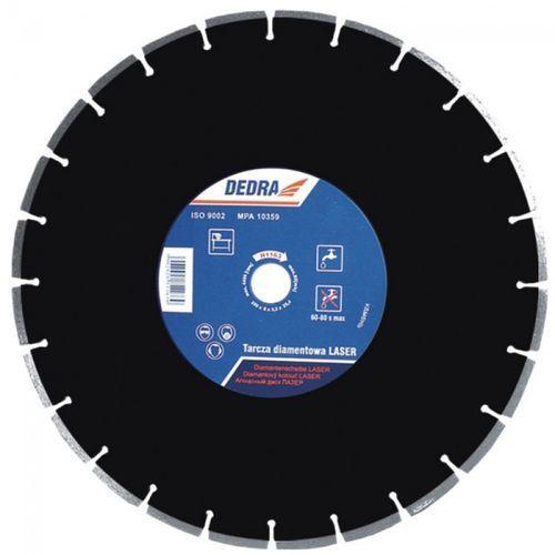 Tarcza do cięcia DEDRA H1185 450 x 25.4 mm Laser Asfalt diamentowa + DARMOWA DOSTAWA! - oferta [054ddcaeff13350d]