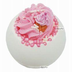 Bomb Cosmetics - Ice Cream Queen - Musująca kula do kąpieli - LODOWA KRÓLOWA, kup u jednego z partnerów