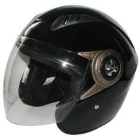 Kask motocyklowy MOTORQ Torq-o8 otwarty czarny połysk (rozmiar XS) + DARMOWY TRANSPORT!