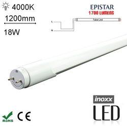 INOXX 120T8K4000 MI FS 1S Świetlówka LED neutralna 1200mm G13 jednostronnie zasilana o mocy 18W 1700 lumenów 4000K - produkt dostępny w Avde.pl