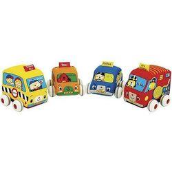 Zabawka ks kids samochodziki z napędem (4 elementy) wyprodukowany przez K's kids