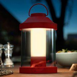 Massive lampa biurkowa abelia czerwony led marki Philips/massive