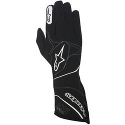 Rękawice kartingowe Alpinestars Tech 1-KX - Czarno / Biały \ XL - produkt z kategorii- Rękawice motocyklowe