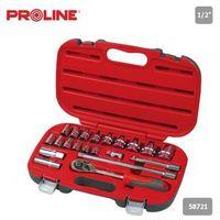 Proline Zestaw kluczy nasadowych 1/2 21el. 8-32mm,  58721