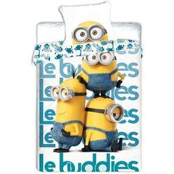Jerry Fabrics Pościel dziecięca Minionki Le buddies, 140 x 200 cm, 70 x 90 cm - sprawdź w wybranym sklepie