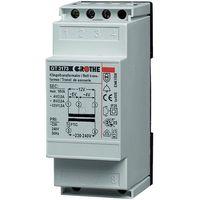 Transformator dzwonkowy Grothe 14201 GT 3148, 230V/8V AC, 1A, na szyne DIN (4011459142018)