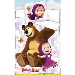Detexpol Pościel dla dzieci 160x200 masha i niedźwiedź 3