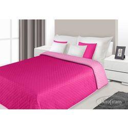 Narzuta dwustronna 220x240 alex amarantowy/różowy marki Eurofirany