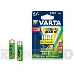 VARTA AA 2600 mAh (2 szt.) R2U - produkt w magazynie - szybka wysyłka! - sprawdź w wybranym sklepie