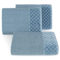 Ręcznik sava 70x140 ciemny niebieski marki Eurofirany