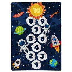Domarex Dywanik dziecięcy z pianki z pamięcią Galaxy, 100 x 150 cm (5902340663554)