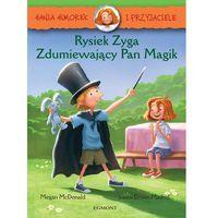Rysiek Zyga, zdumiewający Pan Magik. Hania Humorek i przyjaciele - Megan Mcdonald (2017)