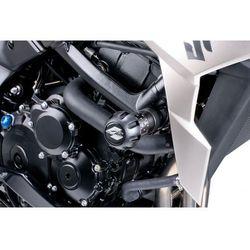 Crash pady PUIG do Suzuki GSR 750 (czarne) z kategorii crash pady motocyklowe