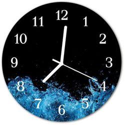 Zegar ścienny okrągły Woda