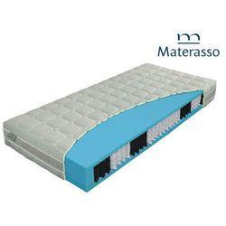 Materasso lavender bio ex - materac kieszeniowy, sprężynowy, rozmiar - 70x200 wyprzedaż, wysyłka gratis