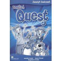 English Quest 2. Język angielski. Szkoła podstawowa. Zeszyt ćwiczeń