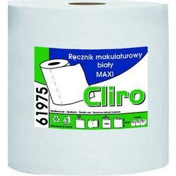 Clean Ręcznik papierowy w roli maxi jedna warstwa 150 m biały makulatura (5902767340175)