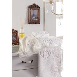 Soft cotton Luksusowy ręcznik 50x100 cm diana biały