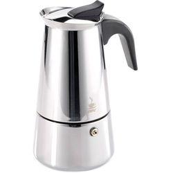 Mała kawiarka na dwie kawy espresso, stalowa Emilio Gefu 100 ml (G-16140), G-16140